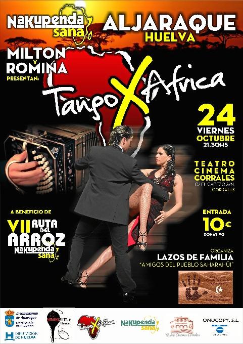 Cartel 'Tango por África'.