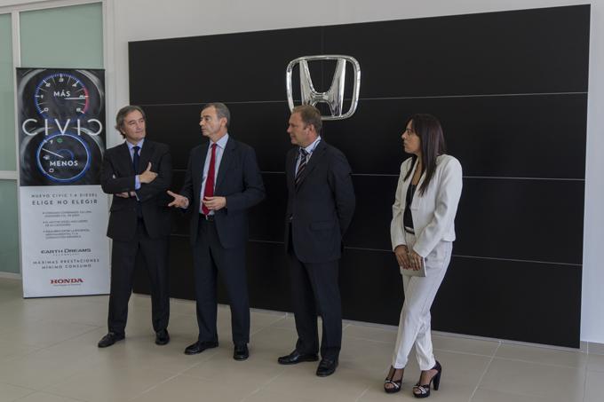 Anna Boix, jefa de prensa de Honda España, condujo la presentación. / Foto: Emilio de la Rosa.