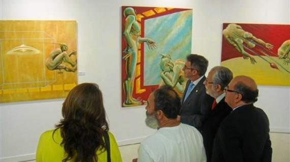 Cantero Cuadrado acoge la exposición 'Pintores Colombianos de Hoy'