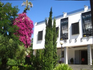 Fachada principal Museo de Huelva.