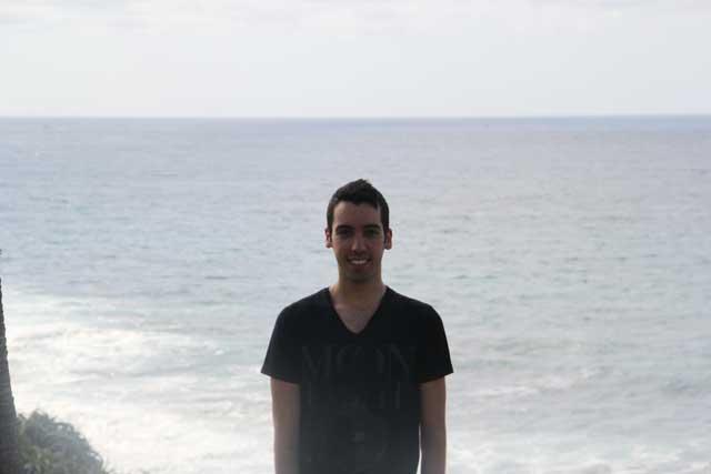 Agustín Carro, un onubense que estudia Arquitectura y Bellas Artes en la universidad californiana de San Diego