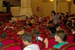 La actuación musical está creando expectación y se espera llenar el Gran Teatro.