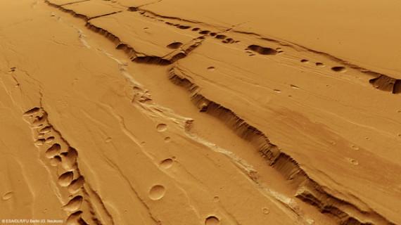 Tharsis, de capital del reino de Tartessos a región volcánica de Marte