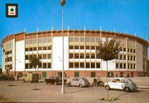 Plaza de toros de la Monumental de Huelva.