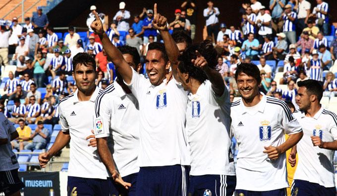 El Recre quiere recuperar la sonrisa ganando al Alavés. / Foto: Josele Ruiz.