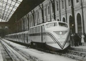 Una imagen de la inauguración del Talgo II.