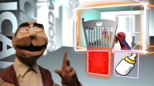 Las marionetas de explican de forma fácil y sencilla momentos de la vida cotidina.