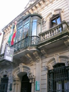 Casa de Antonio Guijarro, actual sede del IAJ.