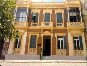 Casa de Antonio Checa, situada en la actual calle Puerto.