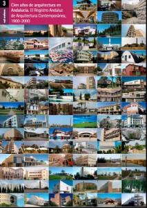 Portada del estudio de 'Cien Años de Arquitectura en Andalucía'.