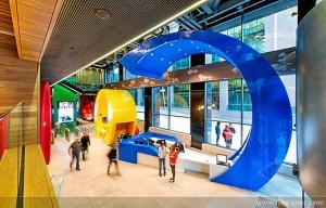 El Google Campus de Dublín.