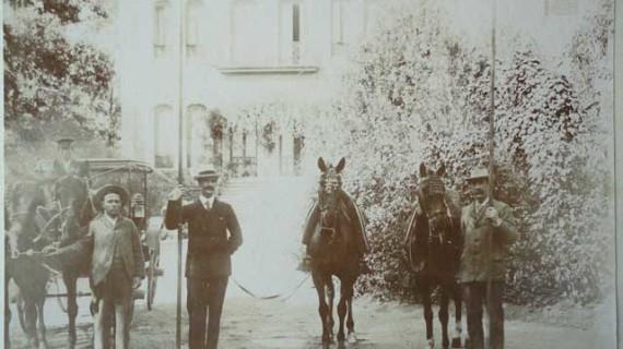 Los Doctores Mackay y Macdonald en la Casa Colón de Huelva en la segunda década del siglo XX