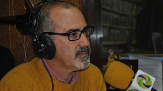 Francisco García Crespo, presidente de la Comisión  Gestora de la Asociación de la Prensa de Huelva