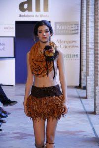 Una de las creaciones de Isabel en Andalucía de Moda.