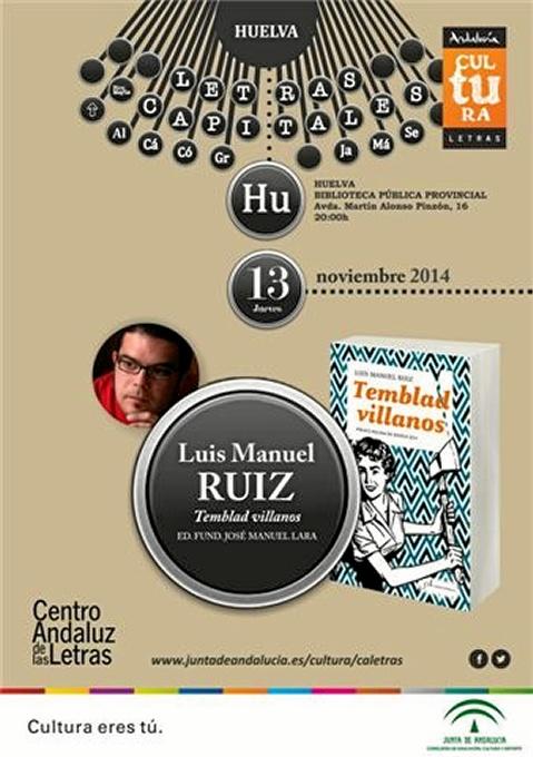 La presentación será esta tarde en la Biblioteca Provincial de Huelva.