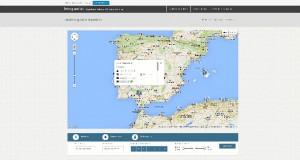 Mapa interactivo de las guardias.