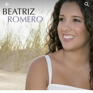 Portada del disco debut de Beatriz Romero.