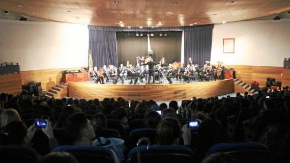 Finalizan los conciertos escolares de la Onubense 'De Cine'