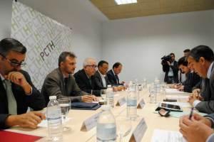 Reunión del Consejo del PCTH.