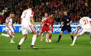 Isco Alarcón, el mejor de la selección española en su partido en Huelva. / Foto: Josele Ruiz.