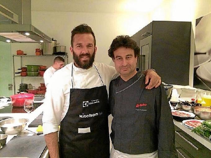 El onubense Francisco Rabazo, un cocinero que ha trabajado con chefs de la talla de Pedro Subijana, Jordi Roca o Sergi Arola