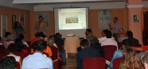 Seminario celebrado en El Rocío sobre la fresa.