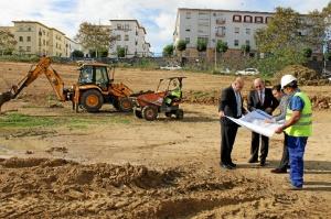 Los representantes municipales han visitado las obras.