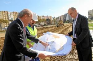 150 operarios municipales trabajan en las obras.