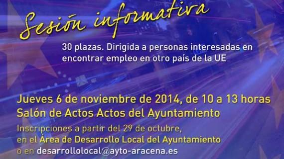 Europe Direct Huelva ofrece sesiones informativas dirigidas a la búsqueda de empleo en países de la UE