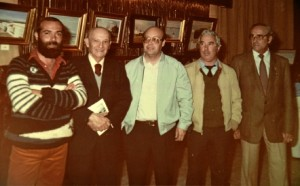 Oliva, Gomez Feu, Emilio Borrego, Esury y Arturo Do Carmo.