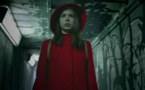 Sara participa en el cuento de 'Caperucita Roja.