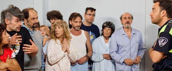 El actor Daniel Mantero 'pone firme' a la comunidad de 'La que se avecina'