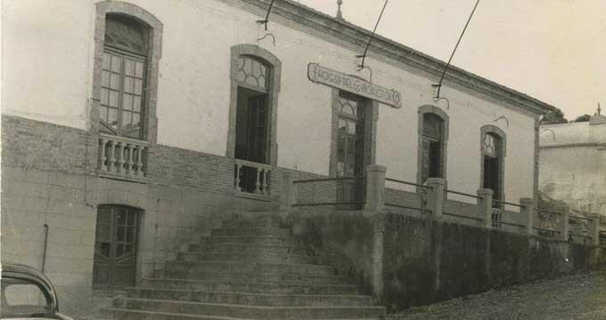 Hogar del Productor de Minas de Riotinto en los años cincuenta del siglo XX