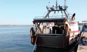 Puerto pesquero de Ayamonte.