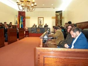 Foto del Pleno de Diputación.
