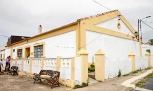 Sede de la colección. Antiguo hospital minero de Tharsis. / Foto: J. C. Cazalla.
