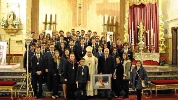 El obispo de Huelva clausura los actos conmemorativos del 75º Aniversario fundacional de La Victoria