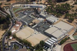 Vista aérea de las instalaciones de ETAP.