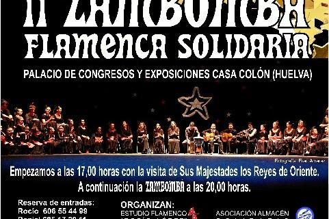 La Casa Colón acoge una zambombá solidaria