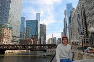 Antonio Pereira, en Chicago.