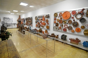 Las piezas del museo abarcan una cronología muy amplia.