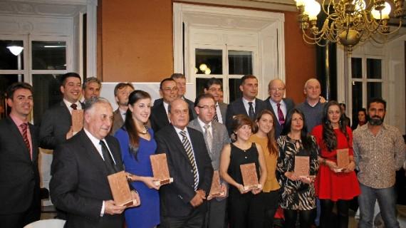 Huelva se emociona en la entrega de premios a sus diez mejores noticias del año