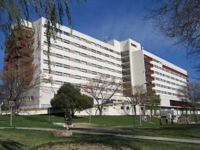 Complejo Hospitalario Infanta Elena, en Huelva.