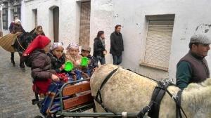 Los niños han participado en la caravana.