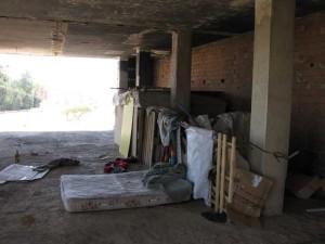 Imagen de un asentamiento en Lepe. / Foto: Fermín Cabanillas.
