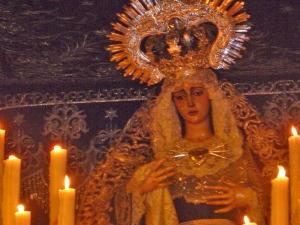 La Virgen será coronada en septiembre.