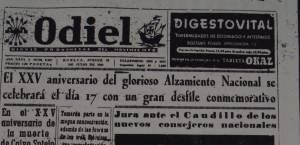 La primera vez que se utiliza el nombre de Monumento a la Fe Descubridora fue en el diario Odiel.