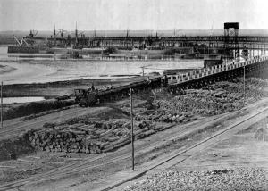 La llegada del ferrocarril a Huelva está íntimamente relacionada con la minería.