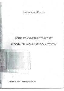 Portada del libro sobre la vida de Miss Whitney.