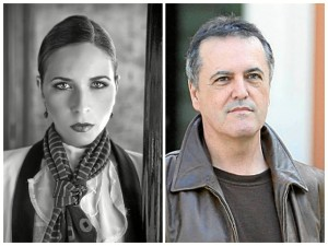 Rocío Marquez y Juan Cobos Wilkins.